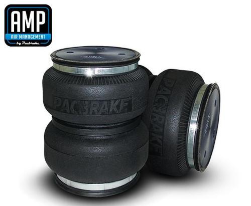 Pacbrake AKE-HP10002 PACBRAKE HP10002 AMP Heavy Duty Rear Air Spring Kit for Dodge RAM 1500 / 2500 / 3500 trucks