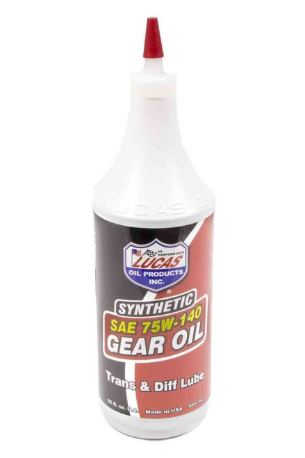 Lucas Oil 10121 75w140 Synthetic Gear Oil 1 Qt