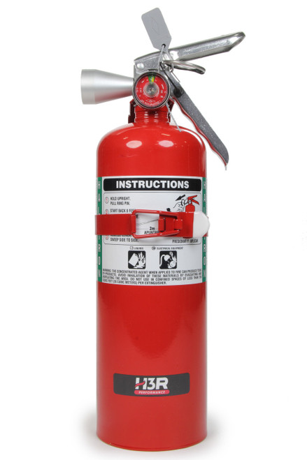 H3R Performance HG500R Fire Ext 5lb Halguard Red