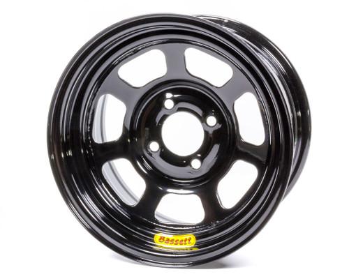 Bassett L37SH4 13x7 4x100mm 4in BS Black