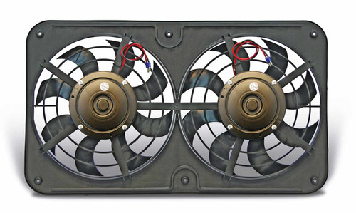 Flex-A-Lite 430 Dual 12in Lo Profile Pusher Fan w/Controls
