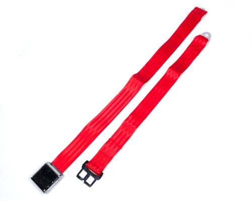 Safe-T-Boy Products STBSB2LARD Airplane Style Buckle 2 Point Red