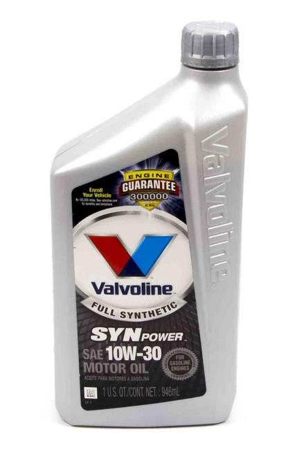 Valvoline 935 10w30 Synthetic Oil Qt. Valvoline
