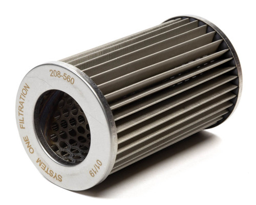 System One 208-560 Oil Filter Element 45 Micron