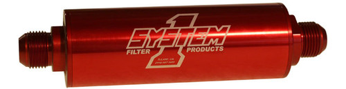 System One 202-202710 Inline Scavenge Oil Filter - #10 Billet