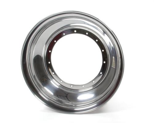 Sander Engineering 1-04 15in x 4in Wheel Half No Lock Ring