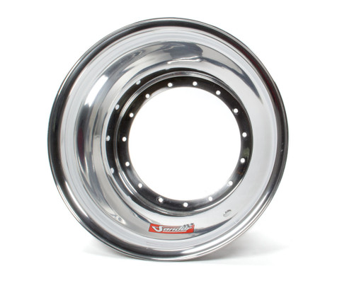 Sander Engineering 1-08 15in x  8in Wheel Half With No Lock Ring