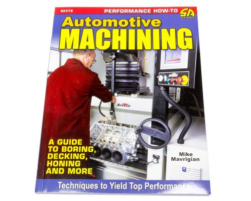 S-A Books SA378 Automotive Machining