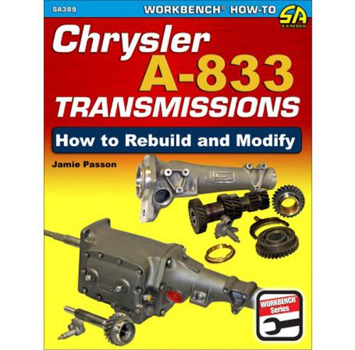 S-A Books SA389 How To Build & Modify Chrysler A-833 Trans