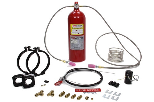 Safety Systems PAMRC-1002 Fire Bottle System 10lbs Automatic & Manual FE36