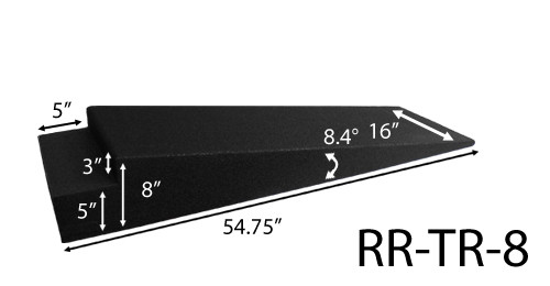 Race Ramps RR-TR-8 8in Trailer Ramps Pair