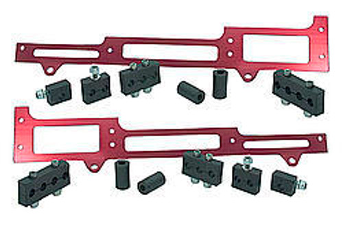 R And M Specialties 1101R Spark Plug Wire Loom SBC Red