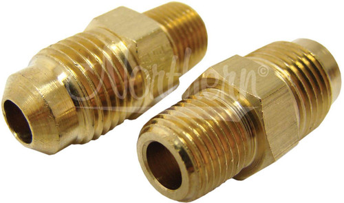 Northern Radiator Z80005 Trans Line Adapter 1/8in -27 NPT X 5/16in 2 Pack