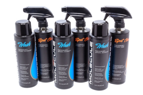 Molecule MLWK-1616-3 Wash Kit 16oz Case of 3