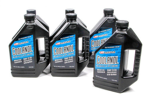 Maxima Racing Oils 82964 Coolanol Coolant Case 6x1/2 Gallon