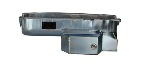 Kevko Oil Pans & Components 1092NRH SBC Oil Pan Sportsman 7qt RH Dipstick 86-Up