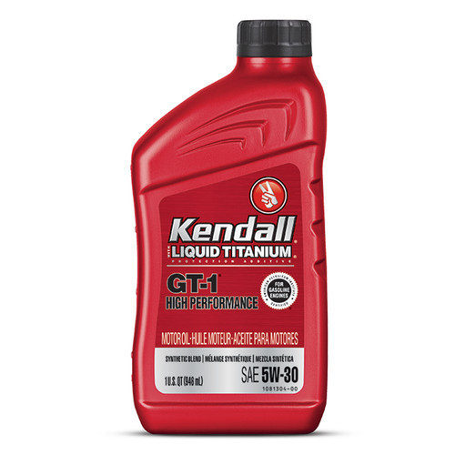 Kendall Oil 1081219 Kendall 5w30 Oil GT-1 High Performance
