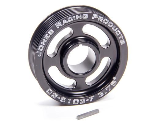 Jones Racing Products CS-5102-F Crank Pulley Serpentine 3.75in