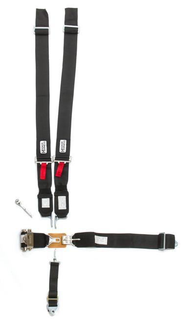 Hooker Harness 52000 5-Pt Harness System LL USD Ratchet Adj Black