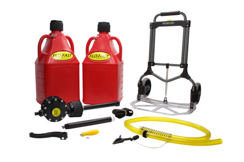 Flo-Fast 10027R 15 Gal Flo-Fast System Red