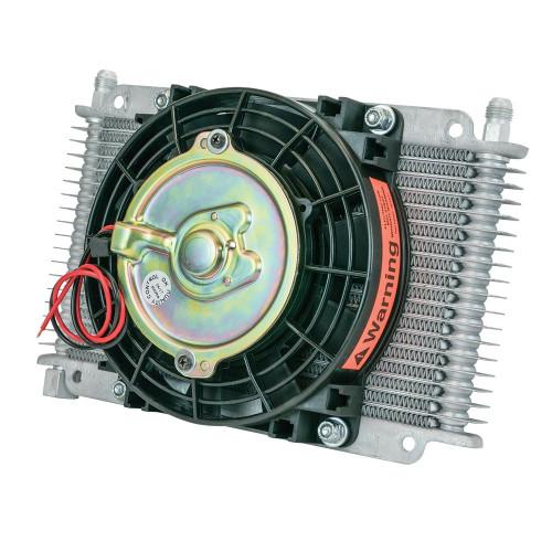 Flex-A-Lite 600017 Transmission Oil Cooler 17 Row -6An 6.5in Fan