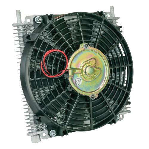 Flex-A-Lite 600029 Transmission Oil Cooler 29 Row 3/8 Barb 10in Fan