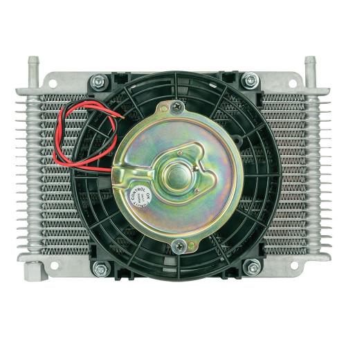 Flex-A-Lite 600117 Transmission Oil Cooler 17 Row 3/8Barb 6.5in Fan
