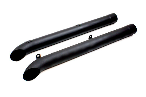 Dougs Headers D930-B Side Pipes - Black (Pair)