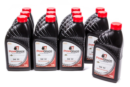 Penngrade Motor Oil 71156-12 50w Racing Oil Cs/12-Qt