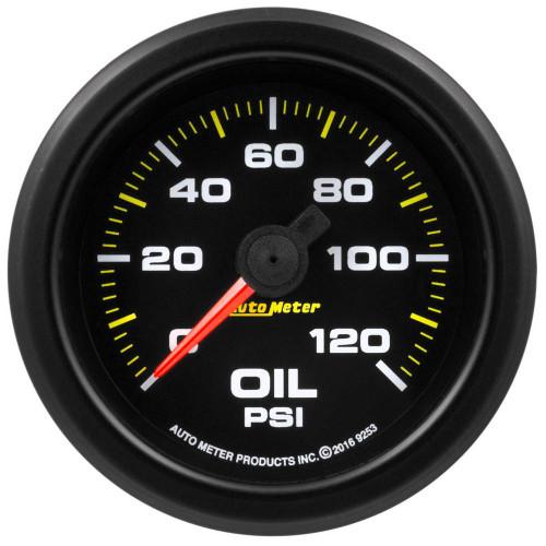Autometer 9253 2-1/16 Gauge Oil Press. 0-120psi