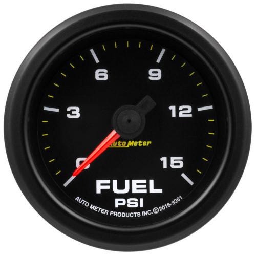 Autometer 9261 2-1/16 Gauge Fuel Press 0-15psi