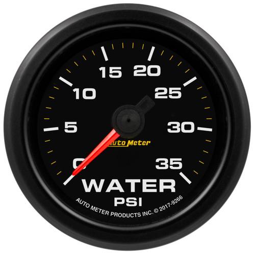 Autometer 9266 2-1/16 Gauge Water Press 0-35psi