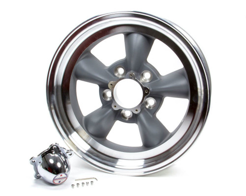 American Racing Wheels VN1055861 Wheel-VN105 15X8.5 5X4.7 5 GRY MA LIP