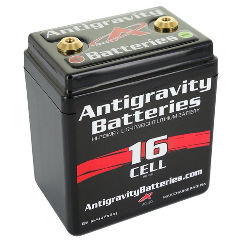 Antigravity Batteries AG-1601 Lithium Battery 480CCA 12Volt 4Lbs 16 Cell