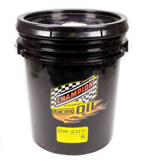 Champion Brand 4360D 0w20 Synthetic Racing Oil 5 Gallon