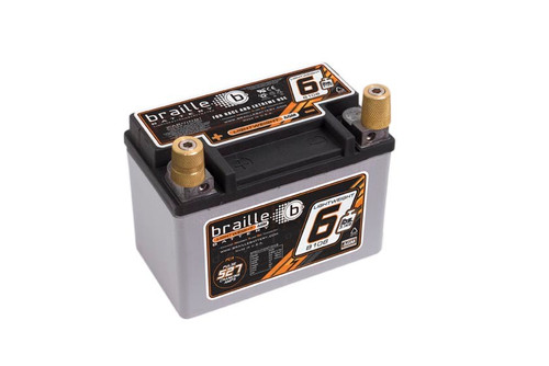 Braille Auto Battery B106 Racing Battery 6.6lbs 527 PCA 5.8x3.4x4.1