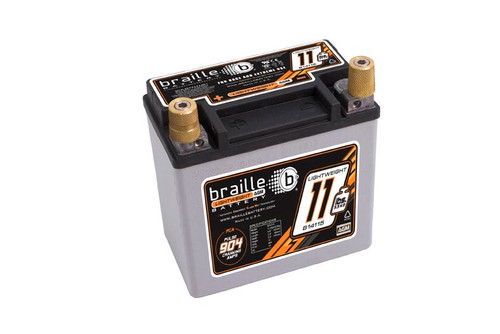 Braille Auto Battery B14115 Racing Battery 11.5lbs 904 PCA 5.8x3.3x5.8