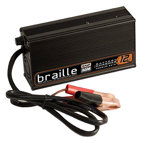 Braille Auto Battery 12310 Battery Charger 12-Volt 10amp Rapid Charge
