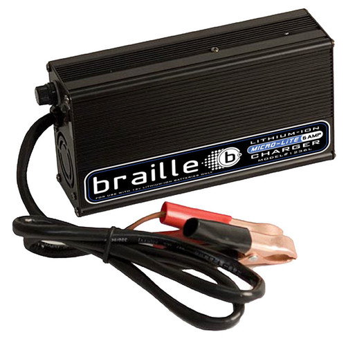 Braille Auto Battery 1236L Lithium Battery Charger 6amp  Micro-Lite