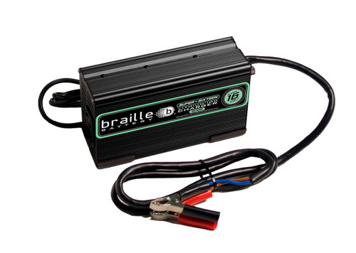 Braille Auto Battery 16325L Lithium Battery Charger Micro-Lite 16 Volt 25amp