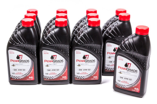 Penngrade Motor Oil 71576-12 20w50 Motorcycle Oil Cs/12-Qt