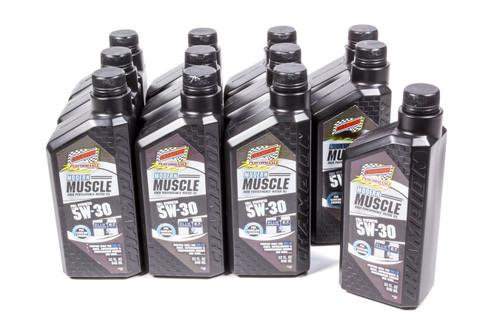 Champion Brand 4401H-12 Modern Muscle 5w30 Oil Case 12x1Qt Full Syn.