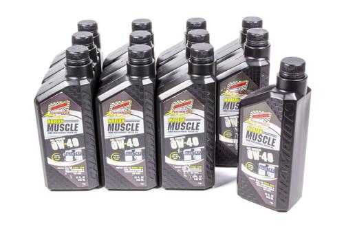 Champion Brand 4402H-12 Modern Muscle 0w40 Oil Case 12x1Qt Full Syn.