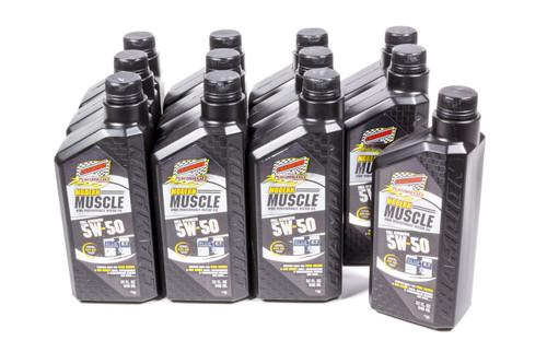 Champion Brand 4403H-12 Modern Muscle 5w50 Oil Case 12x1Qt. Full Syn.