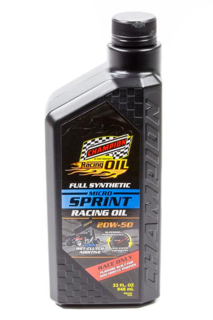 Champion Brand 4446 Micro Sprint Oil 20w50 1 Qt.
