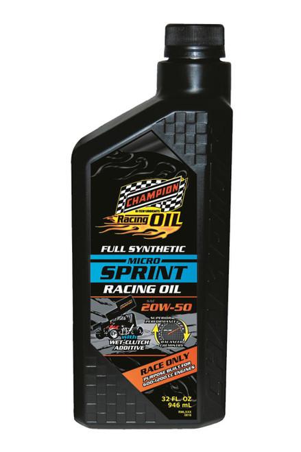 Champion Brand 4446H Micro Sprint Oil 20w50 1 Quart