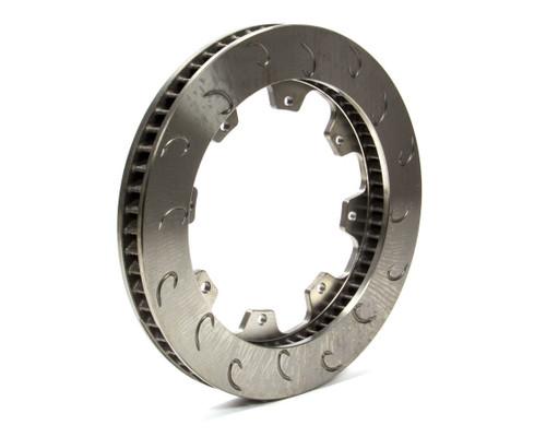 Ap Brake 1901723 60 Vane Brake Rotor LH J-Hook 1.25-11.75 8 Bolt