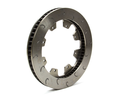 Ap Brake 1901727 60 Vane Brake Rotor LH J-Hook 1.25-12.19 8 Bolt