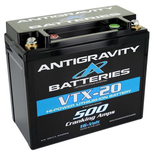 Antigravity Batteries AG-VTX-20-R Lithium Battery 500CCA 16Volt 4.5Lbs 20 Cell