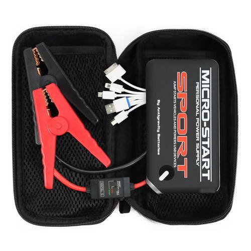 Antigravity Batteries AG-XP-SPT-BLK Micro Start Sport Jump Starter 1 Port w/Case